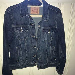 BNWOT Levi Straus Blue Jean Jacket. Size Large.
